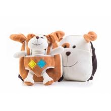 Dětský batoh G21 PEJSEK BROWN