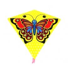 Dětský létající drak TEDDIES Motýl 68x73cm
