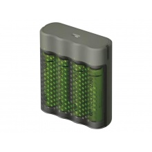 Nabíječka baterií GP Speed M451 + 4xAA ReCyko 2700