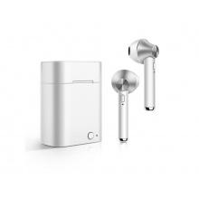 Sluchátka Bluetooth TWS D012A stříbrná