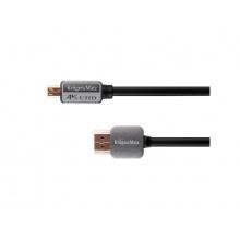 Kabel KRUGER & MATZ KM0327 HDMI - micro HDMI 1,8 m