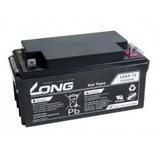 Long 12V 65Ah olověný akumulátor F8 LongLife (WPL65-12AN)