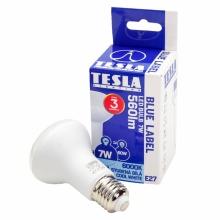 R6270760-REPAS Tesla - LED žárovka Reflektor R63, E27, 7W, 230V, 560lm, 25 000h, 6500K studená bílá, 180°
