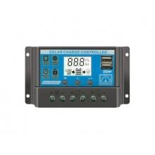 Solární regulátor PWM KLX3220 12V/20A+USB