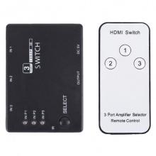 Přepínač 3x HDMI - 1x HDMI HADEX PS3