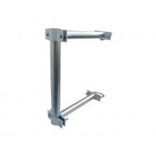 Anténní držák 35 na stožár s dvojitým uchycením průměr 48mm výška 40cm