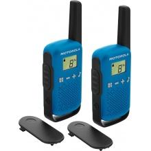 TLKR T42 BLUE Motorola - sada 2 vysílaček PMR446, dosah až 4 km