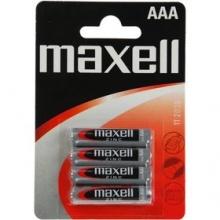 R03/4BP-M Maxell - AAA mikrotužková Zn baterie, balení 4ks (cena za 1ks)