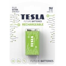1099137208 Tesla - 9V nabíjecí baterie NiMH 250 mAh (HR9V, blister) 1 ks