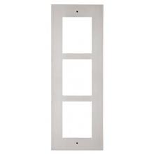 ATEUS-9155013 2N® IP Verso, rámeček pro instalaci do zdi, 3 moduly, nikl