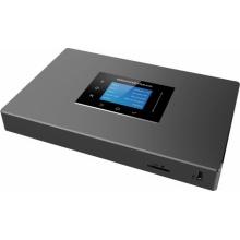 UCM6301 Grandstream - IP ústředna, až 500x uživatelů, až 75 hovorů, 1x FXS, 1x FXO, 2x RJ45, POE, 1x USB