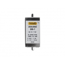 Anténní zesilovač TEROZ 428X k.21 až k.48 s filtrem 5G+LTE+GSM+UFON+CDMA, F-F