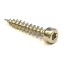 VRUT 4x25 mm s imbusovou hlavou stříbrná
