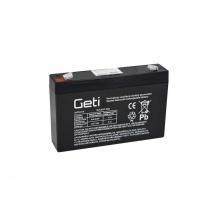 Baterie olověná  6V  7.0Ah Geti