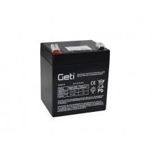 Baterie olověná 12V   5.0Ah Geti