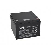 Baterie olověná 12V  28Ah Geti