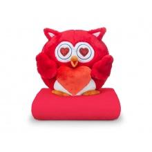 Sovička DORMEO EMOTION OWL LOVE červená 3v1