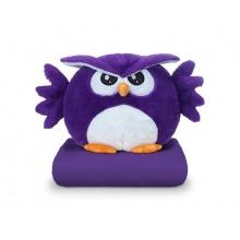 Sovička DORMEO EMOTION OWL ANGRY fialová 3v1