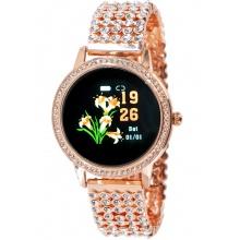 OXE Smart Watch Stone LW20 - chytré hodinky, Rose Gold