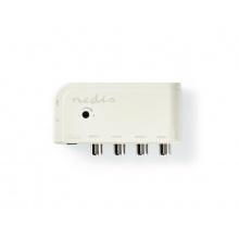 Anténní zesilovač NEDIS SAMP40045WT 10 dB 4 výstupy