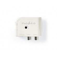 Anténní zesilovač NEDIS SAMP40025WT 15 dB 2 výstupy