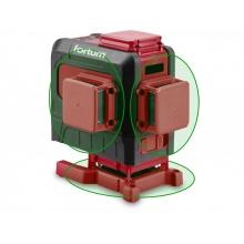 Křížový laser 3D 360° zelený paprsek, samonivelační FORTUM 4780216