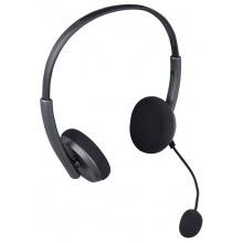 DEXON Náhlavní sluchátka s mikrofonem HE 100