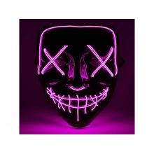 Maska svítící 4L růžová