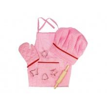 Dětská sada na vaření BIGJIGS TOYS Pink