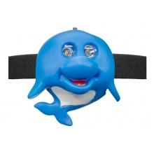 OXE LED čelová svítilna, delfín