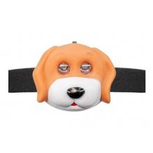 OXE LED čelová svítilna, pes