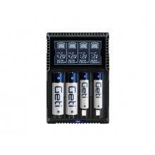 Nabíječka baterií Geti GDC4U Li-Ion LiFePO4 NiCd NiMH