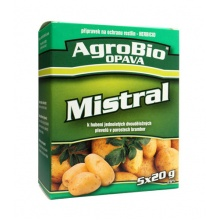 Přípravek proti plevelům v bramborách AgroBio Mistral 5x20g