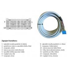 KAB 10/AA - kabel propojovací s konektorem