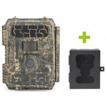 Fotopast OXE Panther 4G a kovový box + 32 GB SD karta, SIM karta, 12 ks baterií a doprava ZDARMA!