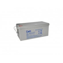 Baterie gelová 12V 180Ah Geti pro soláry