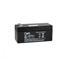 Baterie olověná 12V   3.3Ah Geti