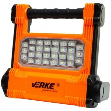 VERKE PREMIUM Aku světlo, reflektor přenosný SMD LED 10W/1000lm, 2,2Ah V87530