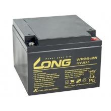 Long 12V 26Ah olověný akumulátor M5 (WP26-12N)