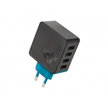 Adaptér USB FOREVER 4.8A TC-04 BLACK