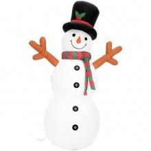 Nafukovací sněhulák, 180 cm