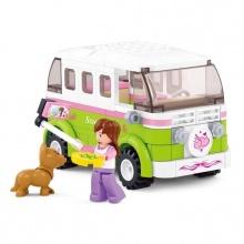 Sluban Girls Dream Town M38-B0523 Obytné auto