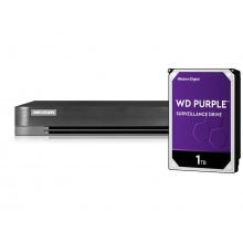 DS-7204HQHI-K1(S) + HDD 1TB (WD+)