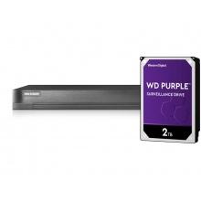 iDS-7208HUHI-M1/S/A + HDD 2TB (WD+)