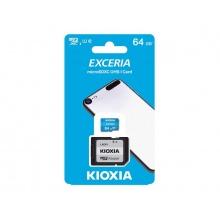 Karta paměťová KIOXIA micro SD 64 GB s adaptérem