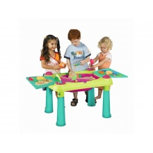 Dětský stolek KETER Creative Fun Table Green/Purple