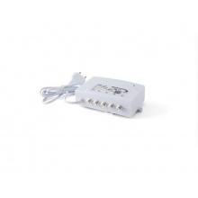 Anténní zesilovač domovní Johansson 7724L2 VHF-UHF, 4x výstup, filtr 5G LTE