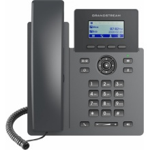 GRP-2601P Grandstream - IP telefon, LCD, 2x SIP účet, 2 linky, 2x RJ45 Mb, POE