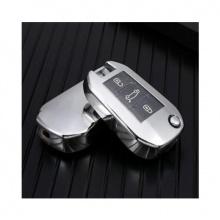 Obal na klíče CITROEN C3/C4/C5/C6 Silver silikon