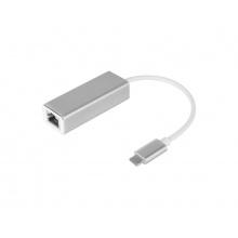 Adaptér KRUGER & MATZ KM1247 USB C - RJ45